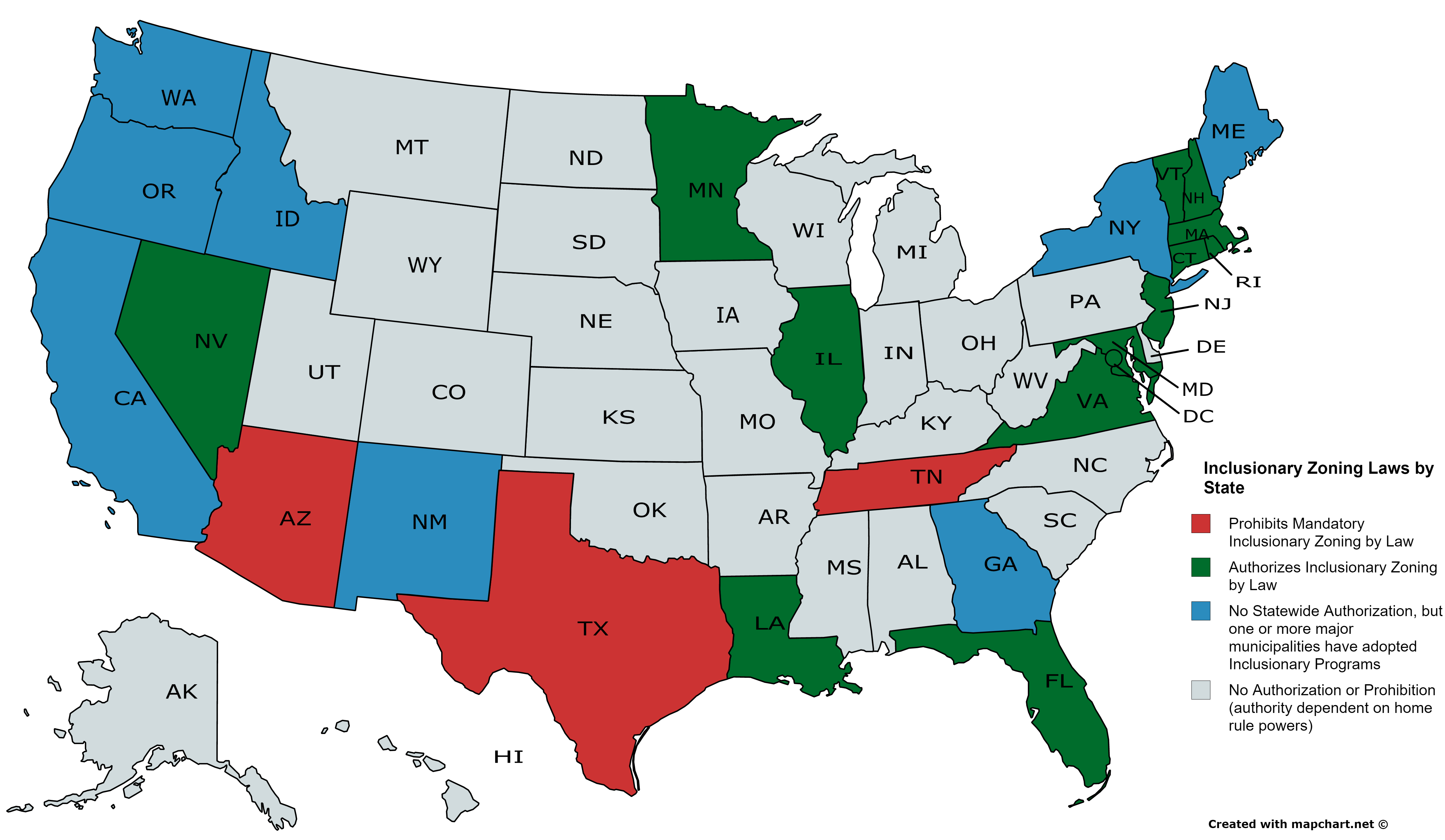 inclusionary-zoning-laws-by-state-1 - Inclusionary Housing